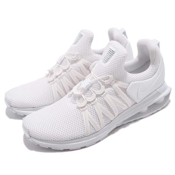 watch baa45 932d9 NEW Men s Nike Shox Gravity White Size 10